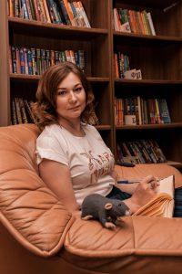 Писатель Анна Васильева